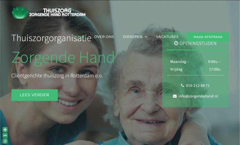 Zorgende Hand Website
